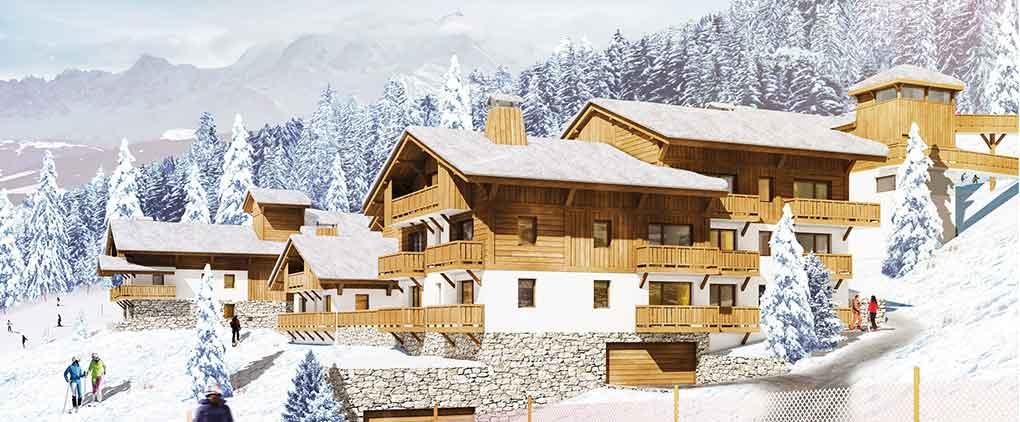 Location ski combloux, vacances combloux, les chalets des pistes