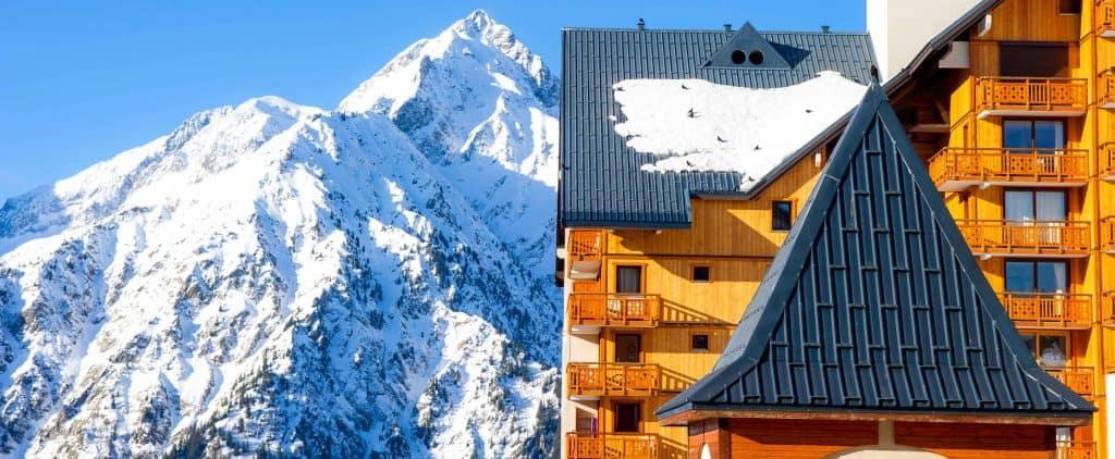 conditions d'enneigement : station les deux alpes