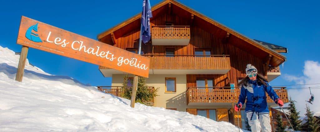 Les chalets Goélia à la Toussuire, conditions d'enneigement : la toussuire