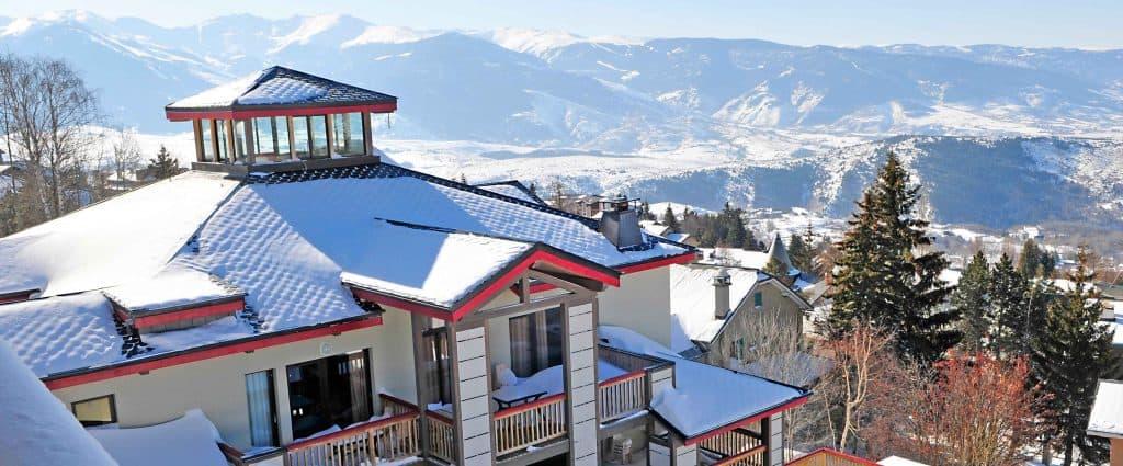 conditions d'enneigement : font-romeu, font-romeu, le domaine de castella, location au ski à font-romeu, location de vacances à Font Romeu, location vacances à Font-Romeu